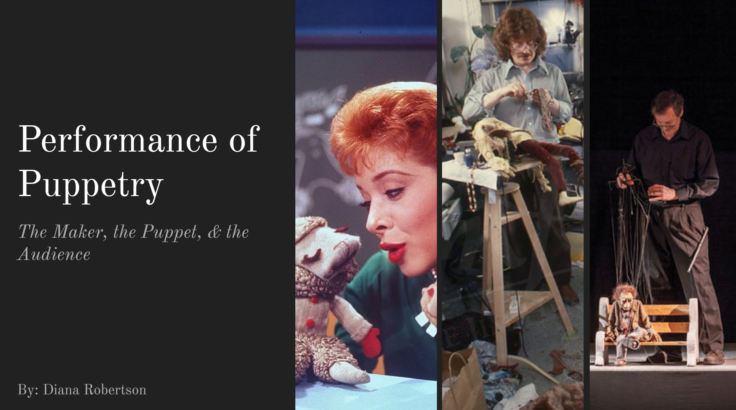 Puppetry ppt
